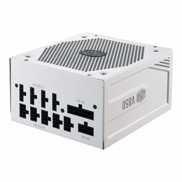 Блок питания Cooler Master V850 Gold V2 White Edition привлечет тех, кто собирает ПК из компонентов белого цвета