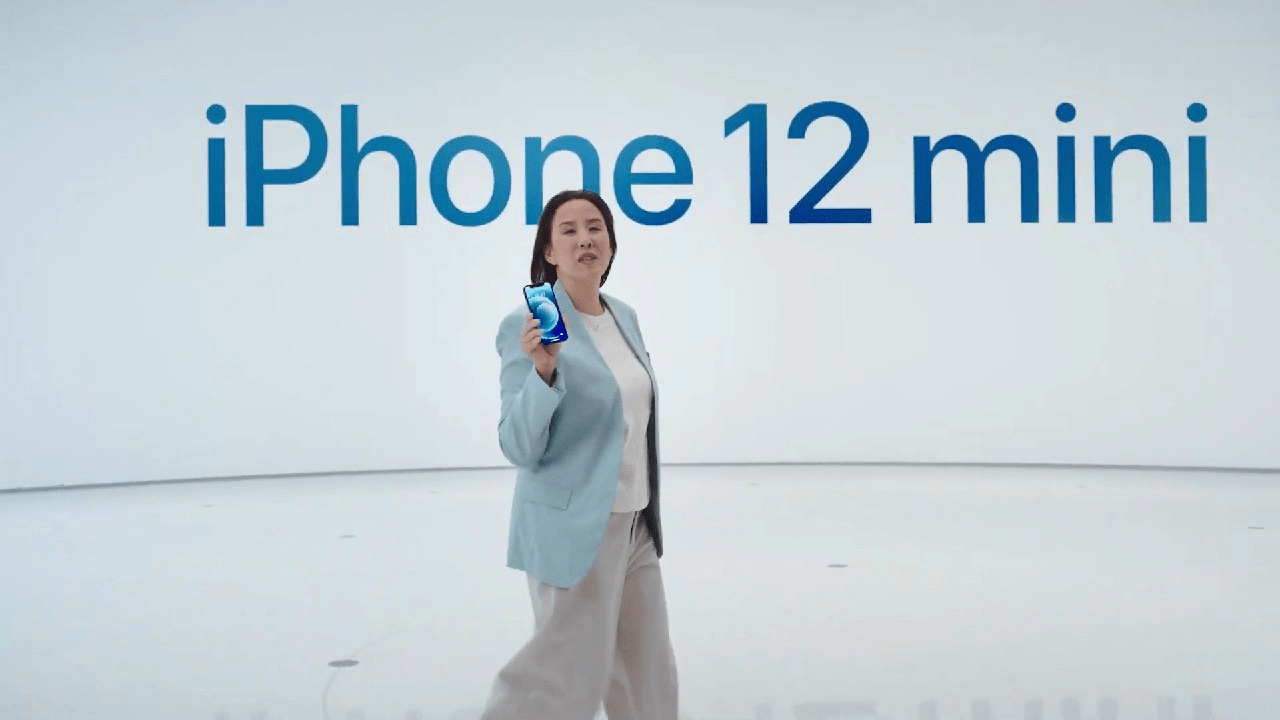 Apple показала iPhone 12 mini